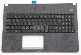 Asus X501 X501A X501U F501 F501A F501U Fekete felsőburkolat, Fekete betük
