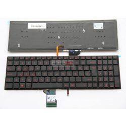 Asus G501V G501VW vörös háttérvilágítással fekete billentyűk