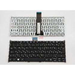 Acer Aspire V5-122 V5-122P V5-132 V5-132P V3-331 V3-371 V3-372 E3-111 E3-112 fekete magyar billetntyűzet
