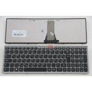 Lenovo Ideapad Flex 15, G500S, G505S, S500 S510 S510P Z510 szürke keretes magyar billentyűzet, GYÁRI ÚJ