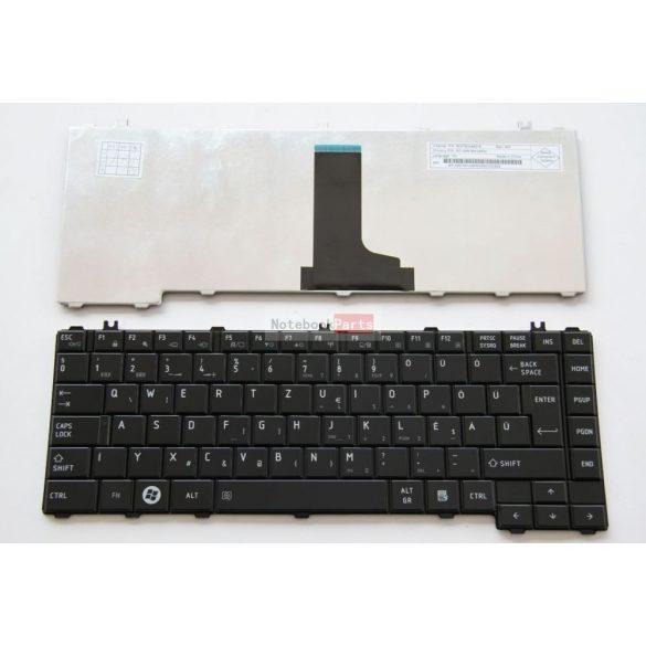 Toshiba Satellite L600 L630 L635 L645 L730 C600 C605 black Magyar Billentyűzet, GYÁRI ÚJ