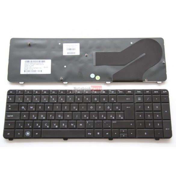 HP G72 , Compaq CQ72 fekete, gyári, magyar billentyűzet, GYÁRI ÚJ