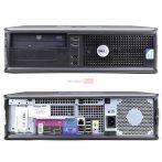 Dell Optiplex 760 DT Használt PC, 2x2.66 GHz / 2GB DDR2 / 160GB HDD / DVD olvasó
