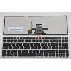 Lenovo Ideapad M50 M50-70 M50-80, Flex 2-15 2-15d G50-45 Z50-70 ezüst keret gyári új magyar billentyűzet.