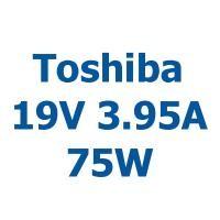 TOSHIBA 19V 3.95A 75W