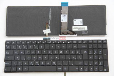 Asus K501 K501L K501LB K501LX K501U K501UX R516 R516L R516LB R516U R516UX laptop billentyűzet háttérvilágítással