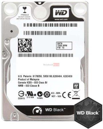 """Western Digital Black Scorpion 2.5"""" 500GB 7200rpm 32MB SATA3 WD5000LPLX"""