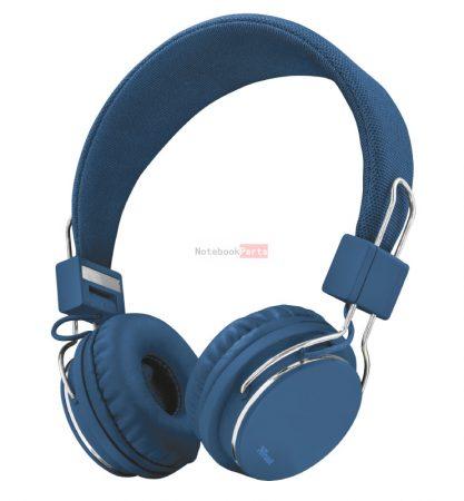 Trust Ziva összehajtható kék headset