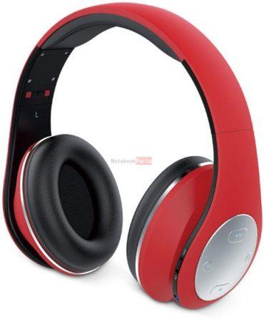 Genius HS-935BT összehajtható Bluetooth piros fejhallgató headset
