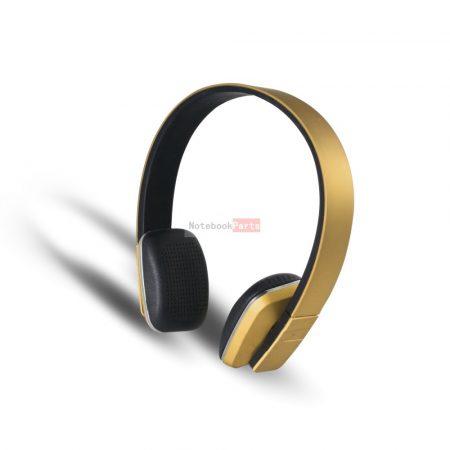 Stansson BHC206G Bluetooth arany headset