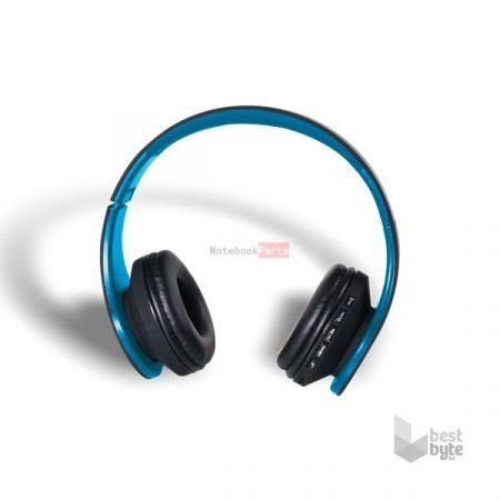 Stansson BHC203BK Bluetooth fekete-kék headset