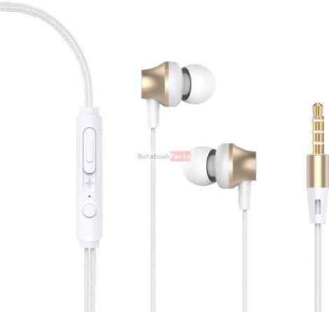 Devia ST307607 Metal arany fülhallgató headset