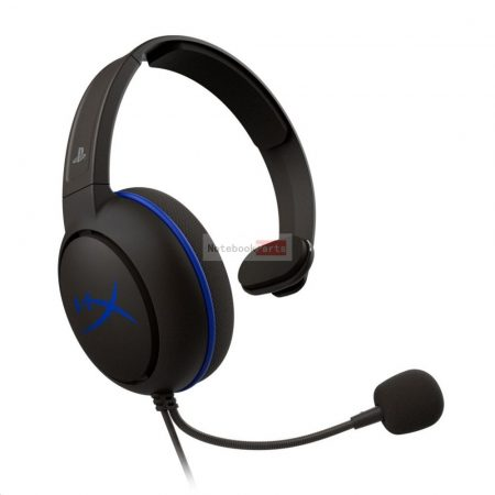 Kingston HyperX Cloud Chat (PS4 Licensed) 3,5 Jack fekete gamer headset