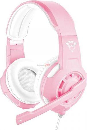 Trust GXT 310P Radius pink gamer headset
