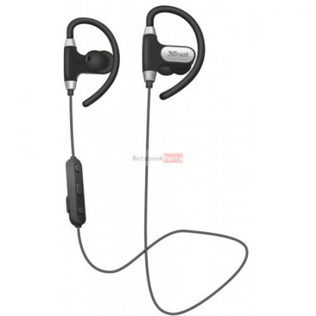 Trust Usan Bluetooth wireless fekete sport headset