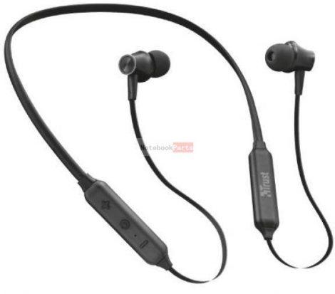 Trust Ludix Lightweight Bluetooth wireless fekete sport headset