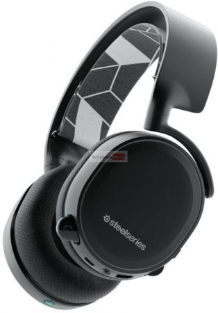 SteelSeries Arctis 3 Bluetooth fekete gamer headset