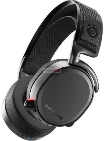 SteelSeries Arctis Pro Wireless fekete gamer headset