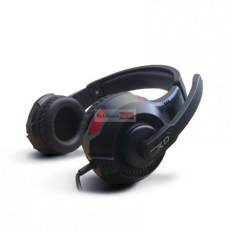 Genius HS-G600V jack fekete gamer headset