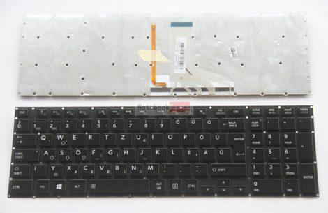 Toshiba Satellite P50-A, Qosmio X70-A X70-B X75-A (Gaming Version) Háttérvilágítás, fekete billentyűzet