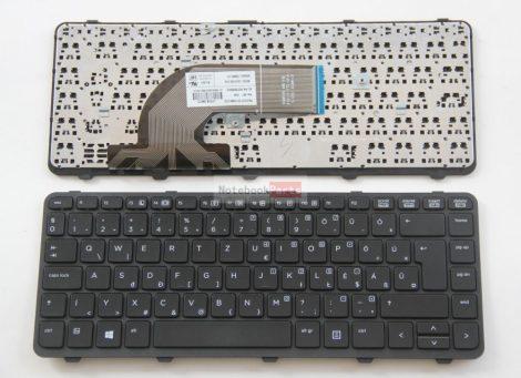 HP ProBook 640 G1, 645 G1 gyári új magyar laptop billentyűzet trackpoint nélküll (738687-211)