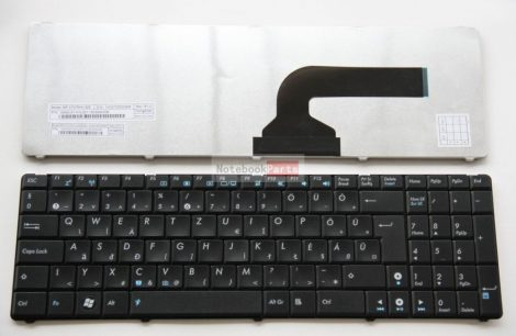 Asus N50 N51 N52 N60 N71 N90 W90 X61 A52 A53 A72 X73S M60J fekete laptop billentyűzet
