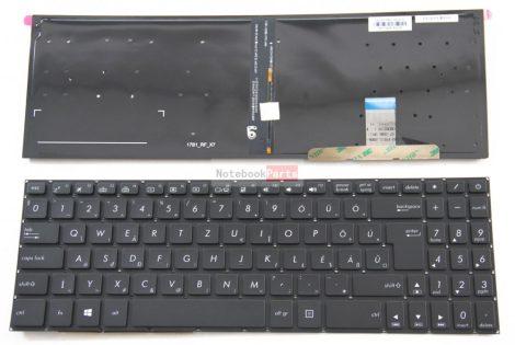 ASUS N580 N580V N580VD N580G N580GD háttérvilágításos laptop billentyűzet