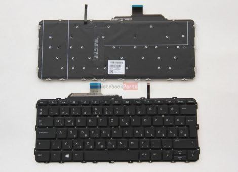 HP EliteBook Folio G1 laptop billentyűzet háttérvilágítással