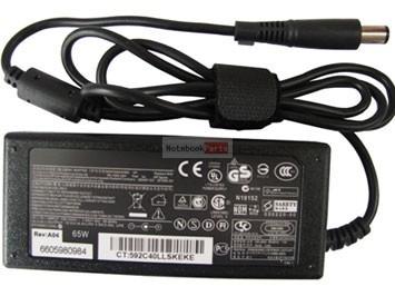 HP/COMPAQ 19V 90W Gyári, nagydugós, tüskés laptop tápegység