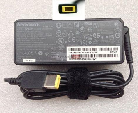 Lenovo 20V 3.25A (65W) IdeaPad Téglalap dugós, Gyári laptop tápegység