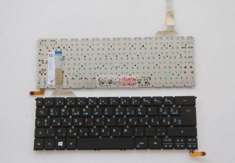 Acer Aspire R13 R7-371 R7-371T fekete billentyűzet háttérvilágítással