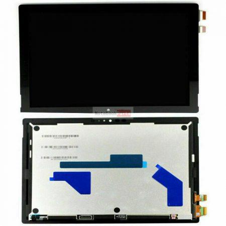 Microsoft Surface pro 5 Model 1796 kijelzőegység - fekete