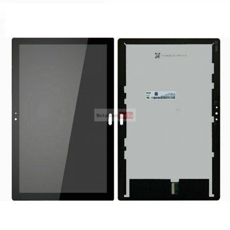 Lenovo Tab P10 TB-X705 kijelzőegység - fekete