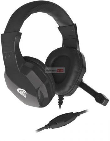 Genesis Argon 100 Mikrofonos gamer fejhallgató, fekete