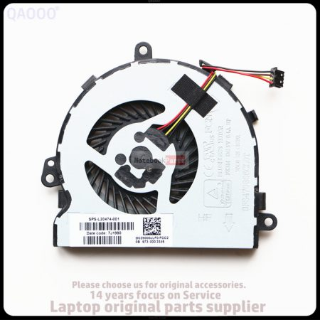 HP 255 250 G6 15-BS 15-B CPU Fan (SPS: 925012-001 DC28000JLF0) laptop ventillátor
