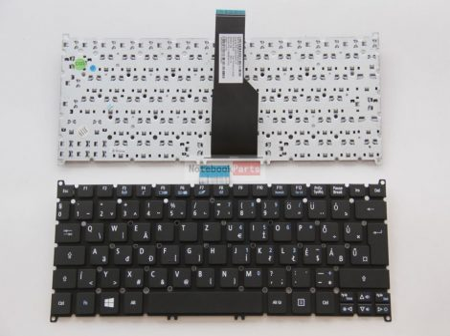 Acer S3-371 S3-391 S3-951 S5-391 V5-121 V5-131 V5-171/  One 725 756;TravelMate B113 B113-E B113-M fekete laptop billentyűzet