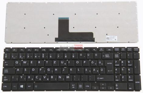 Toshiba Satellite L50-C L50D-C L70-C C55-C P50-C P50D-C P50t-C C70-C C70D-C P55W-B P50W-C P55W-B, fit L50-B L50D-B S50-B S50D-B S50T-B L55-B S55T-B fekete laptop billentyűzet